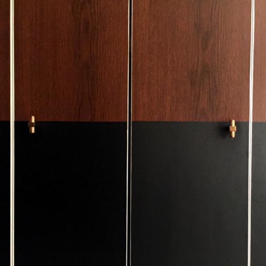 How to DIY Closet Door Makeover