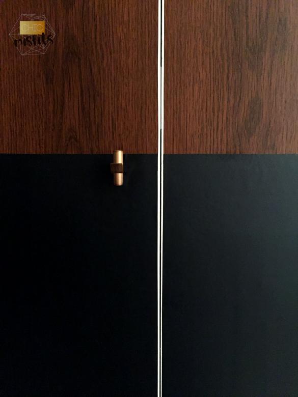 Midcentury Modern Closet Door Makeover Chic Misfits