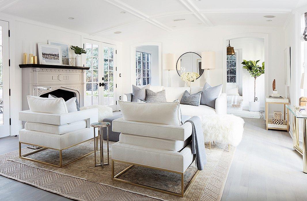 One Kings Lane White Living Room