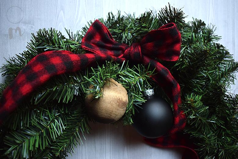 DIY Christmas Wreath ornaments