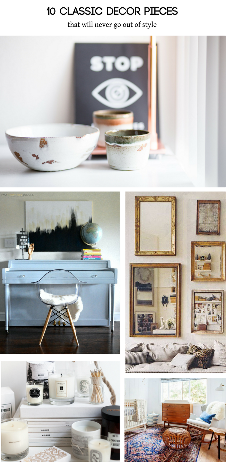 10 Classic Decor Pieces That Will Never Go Out of Style ...
