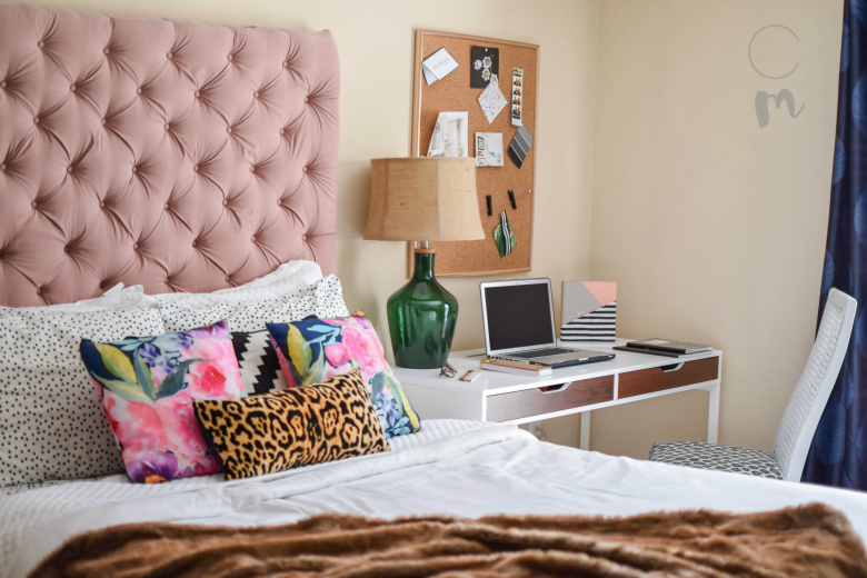 eclectic bedroom. Eclectic Bedroom bed desk feature My home  Charming Tour Chic Misfits