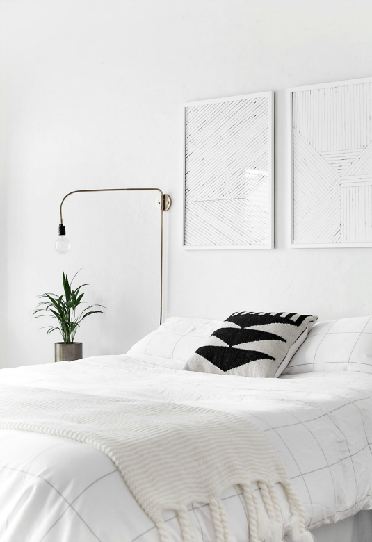 Maximize space minimalist lighting