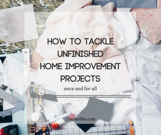 Unfinished home improvement main image