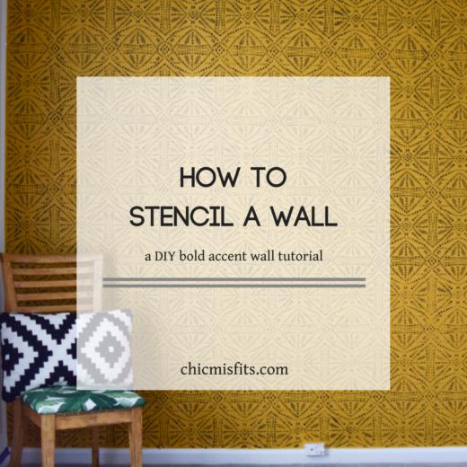 Stencil a wall main page