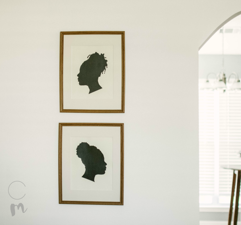 DIY silhouette art feature image 2