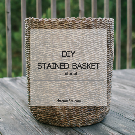 Stained basket feature image