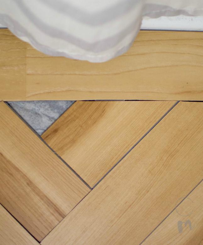 Herringbone Pattern Leftover Space