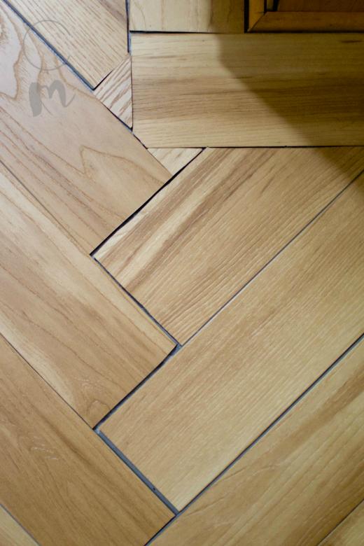 Herringbone wood filler