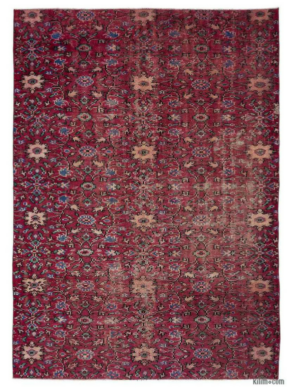 Maroon Turkish rug