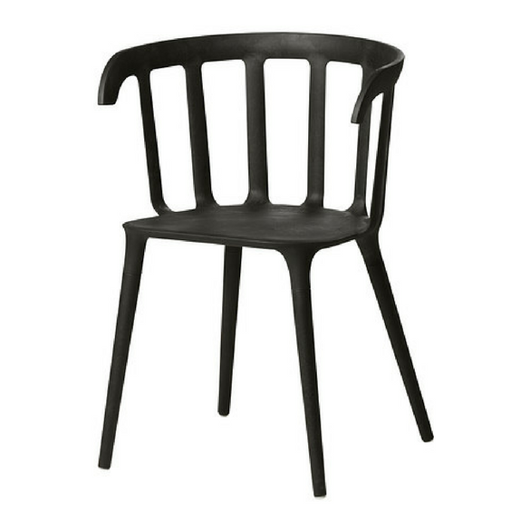 Ikea black dining chair