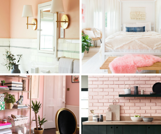 Pink Rooms Collage Feature