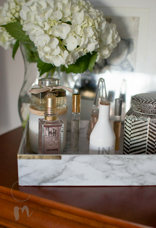 How to DIY a vanity tray