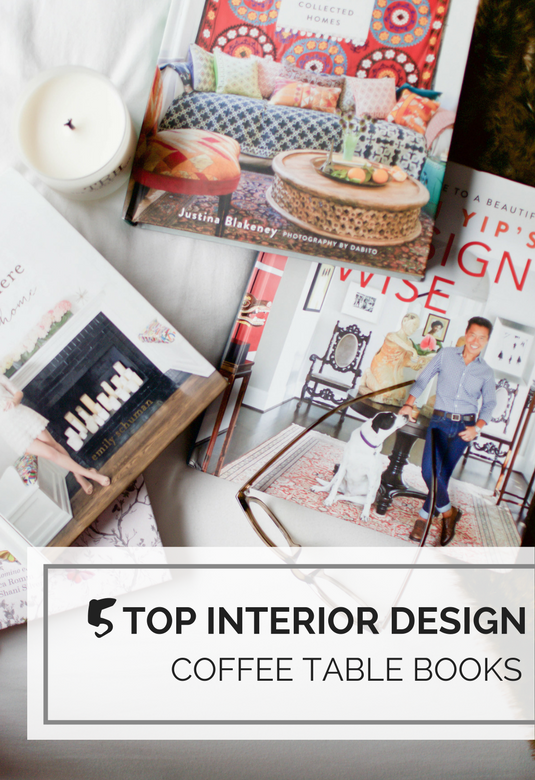 5 top interior design coffee table books chic misfits for Interior design books