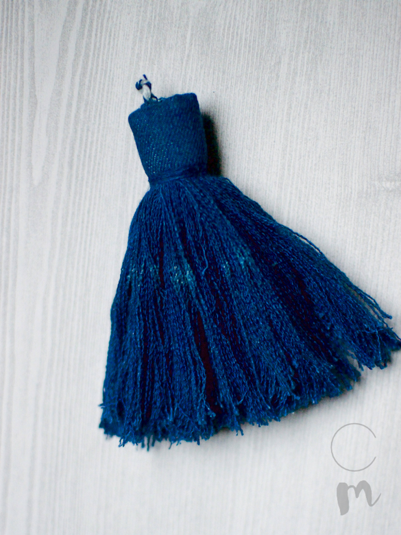 Denim Furniture Tassel Tutorial