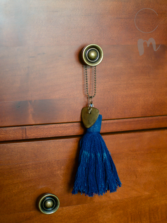 DIY Furniture Tassel Using Old Jeans