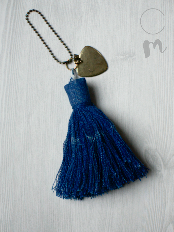 DIY Denim Furniture Tassel Tutorial