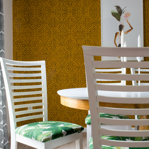 Bold and Bright Dining Room Tour