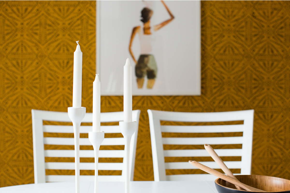 Bold and Colorful Dining Room Reveal