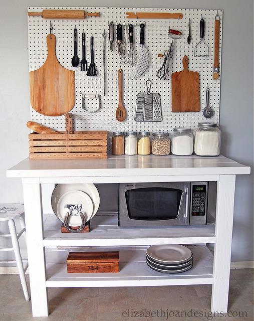 Kitchen Utensil Organization Idea