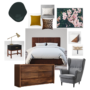 Style Files: Dark and Moody Green Bedroom